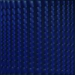 enrico-castellani-1930-superficie-blu-1977-acrilico-su-tela-cm-100x100